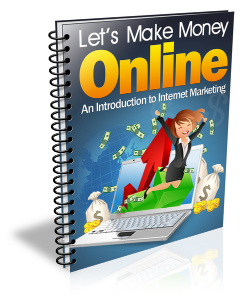 Product picture Lets Make Money Online PLR